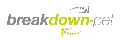 Breakdown PET logo